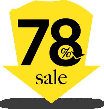 78% sale